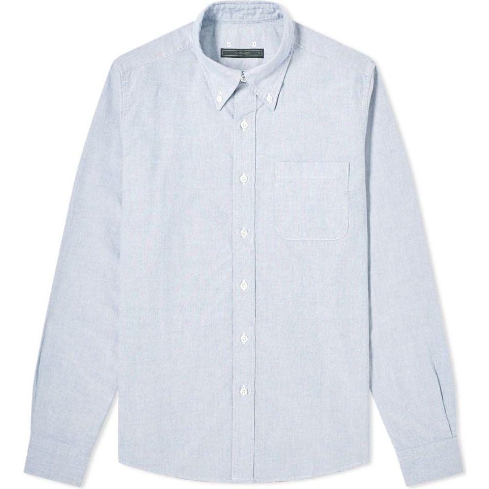 ソフネット SOPHNET. メンズ シャツ トップス【back panel shirt】Navy