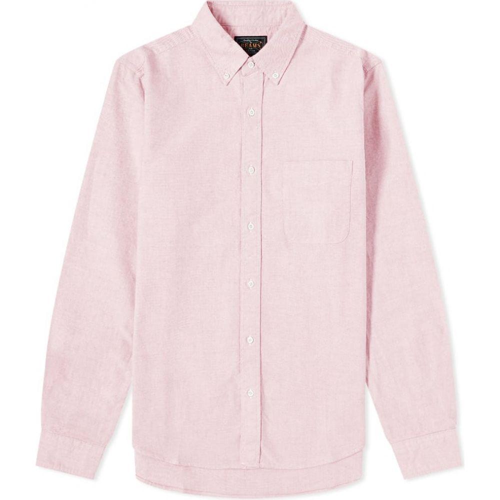 ビームス プラス Beams Plus メンズ シャツ トップス【button down oxford shirt】Pink