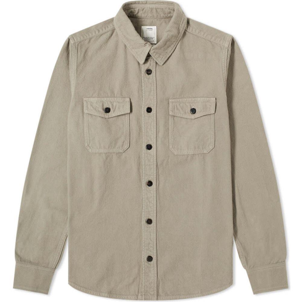 ビズビム Visvim メンズ シャツ フランネルシャツ トップス【black elk flannel shirt】Grey