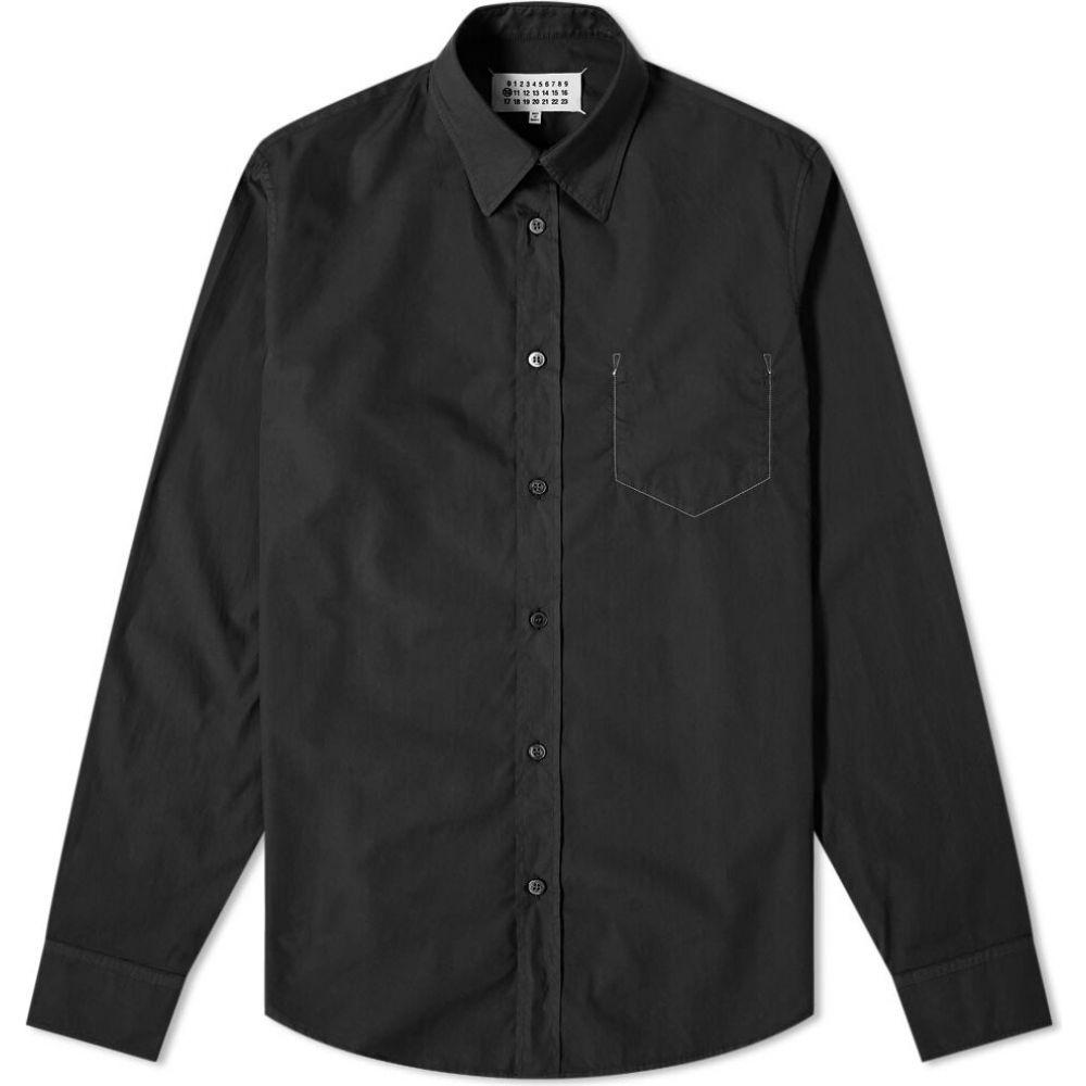 メゾン マルジェラ Maison Margiela メンズ シャツ トップス【10 dyed shirt】Black