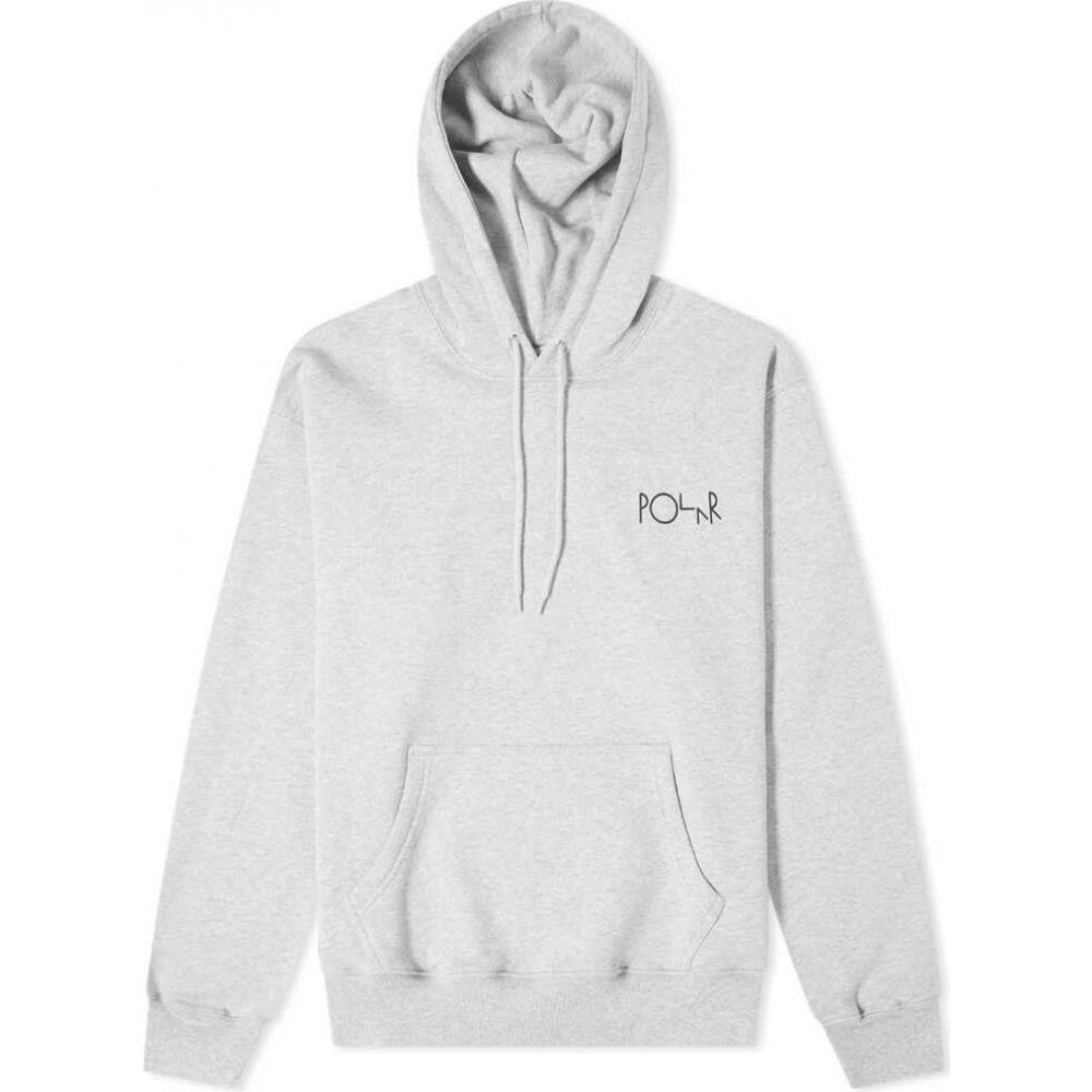 ポーラー スケート カンパニー Polar Skate Co. メンズ パーカー トップス【fill logo hoody】Sport Grey