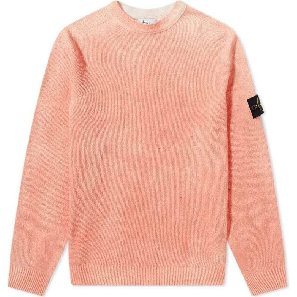ストーンアイランド トップス【knit】Orange ニット・セーター メンズ Island Stone