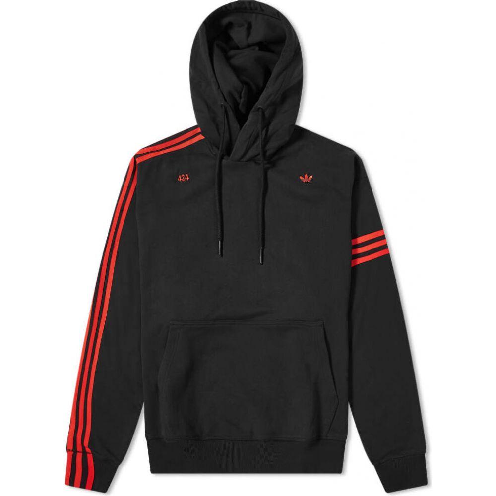 アディダス Adidas Consortium メンズ パーカー トップス【adidas x 424 vocal hoody】Black/Red