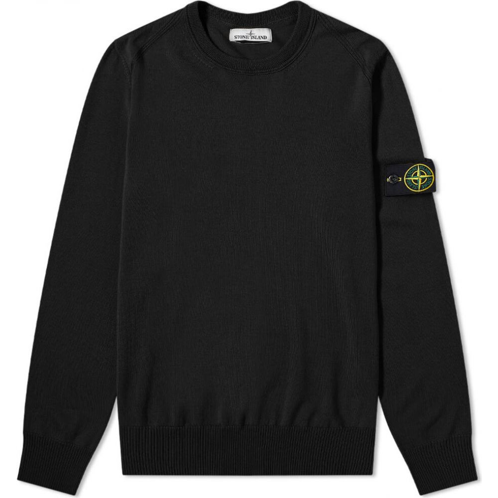 ストーンアイランド Stone Island メンズ ニット・セーター トップス【knit】Black:フェルマート