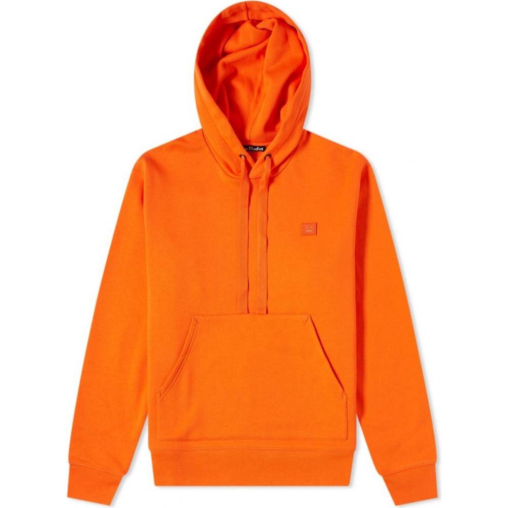 アクネ ストゥディオズ Acne Studios メンズ パーカー トップス【ferris face hoody】Dark Orange