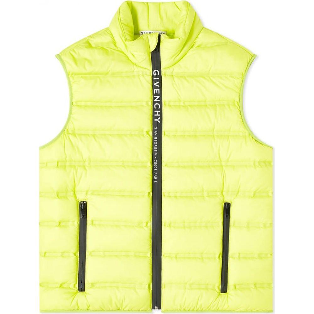 ジバンシー Givenchy メンズ ベスト・ジレ トップス【lightweight puffer vest】Lime
