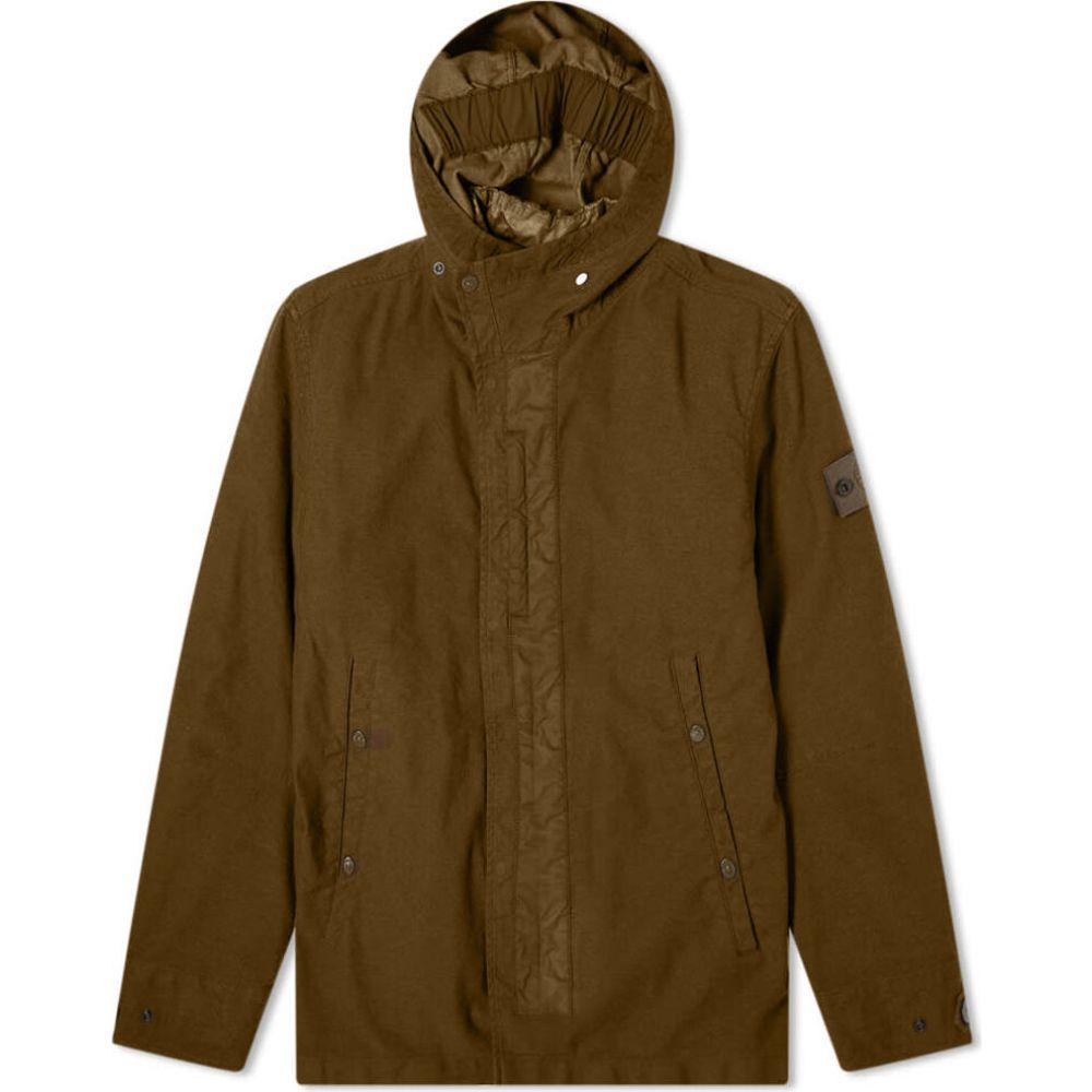 ストーンアイランド Stone Island メンズ ベスト・ジレ トップス【ghost piece jacket with gilet】Military Green