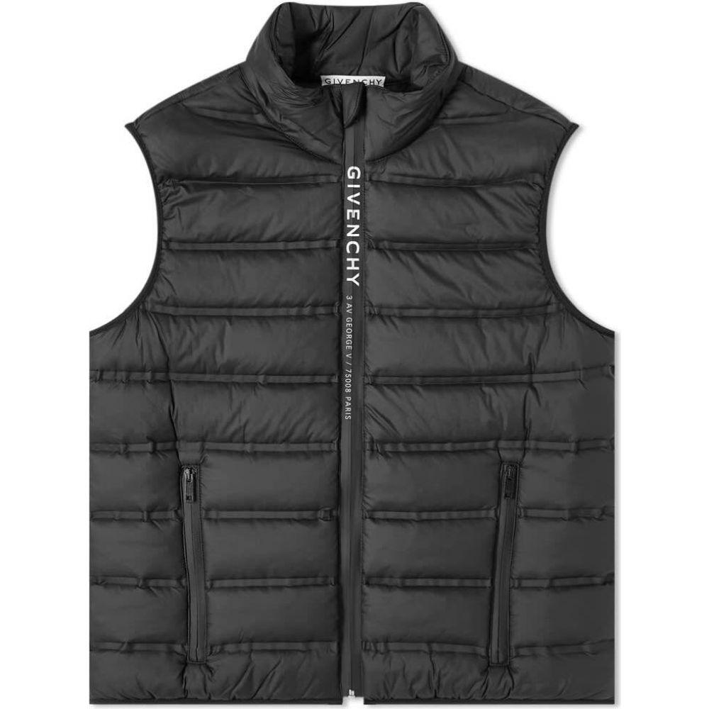ジバンシー Givenchy メンズ ベスト・ジレ トップス【lightweight puffer vest】Black