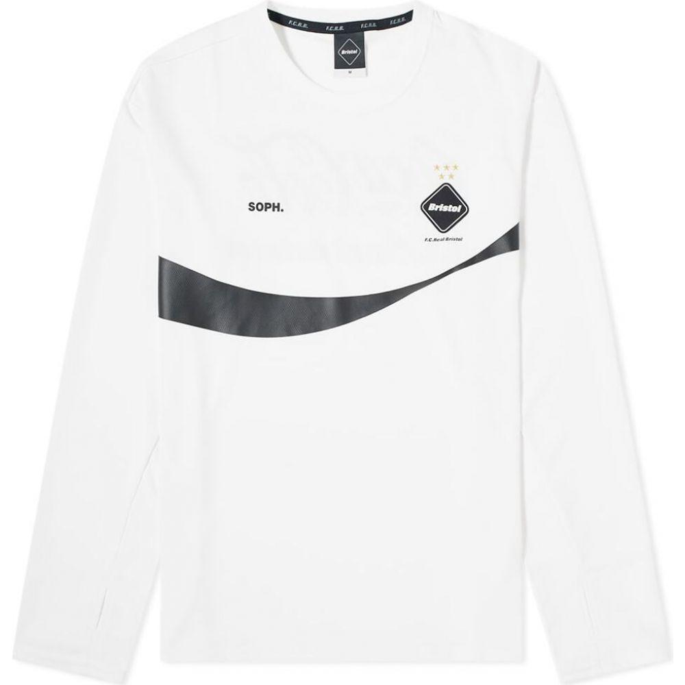 エフシーレアルブリストル F.C. Real Bristol メンズ 長袖Tシャツ トップス【x coca-cola long sleeve tour tee】White