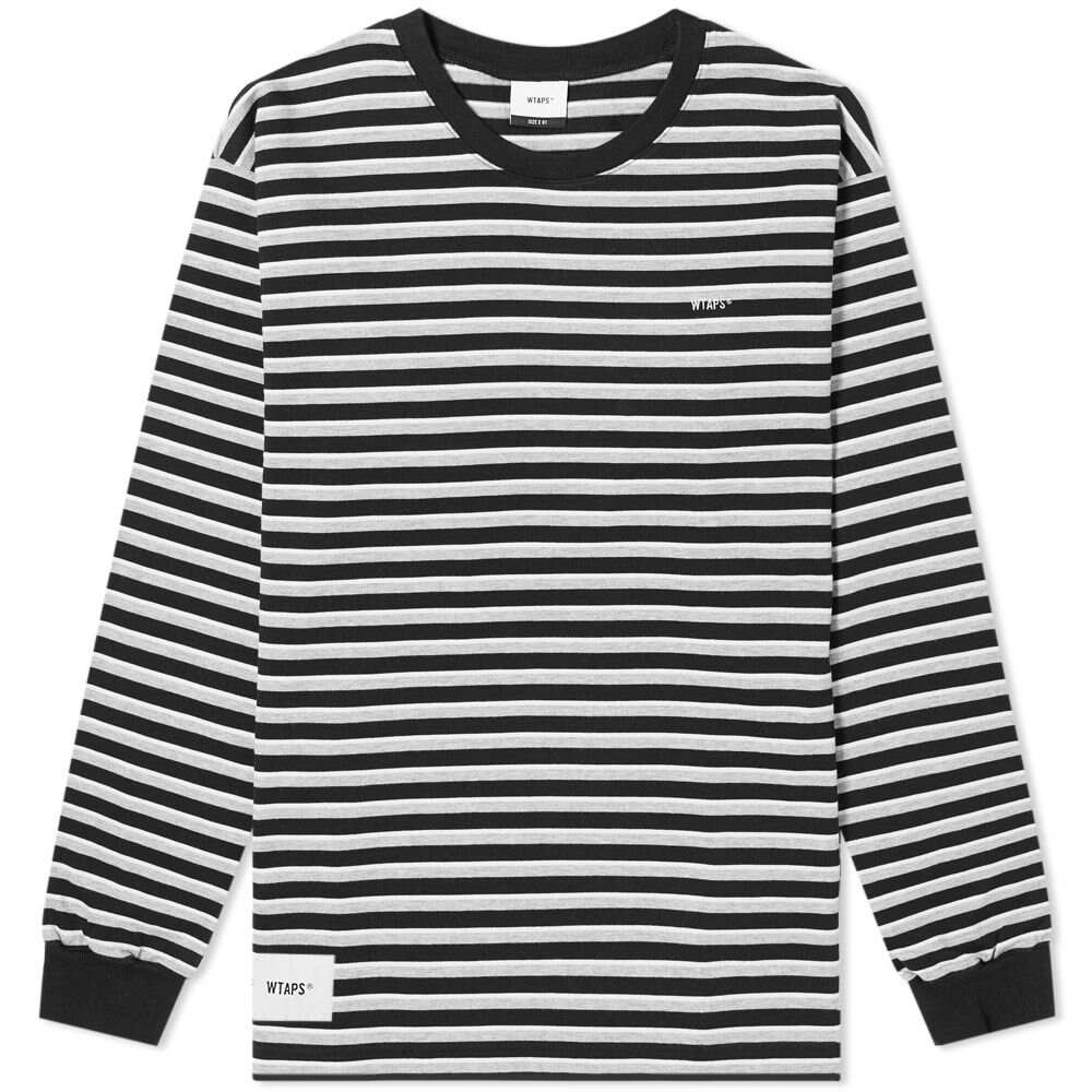 ダブルタップス WTAPS メンズ 長袖Tシャツ トップス【long sleeve vasque tee】Black