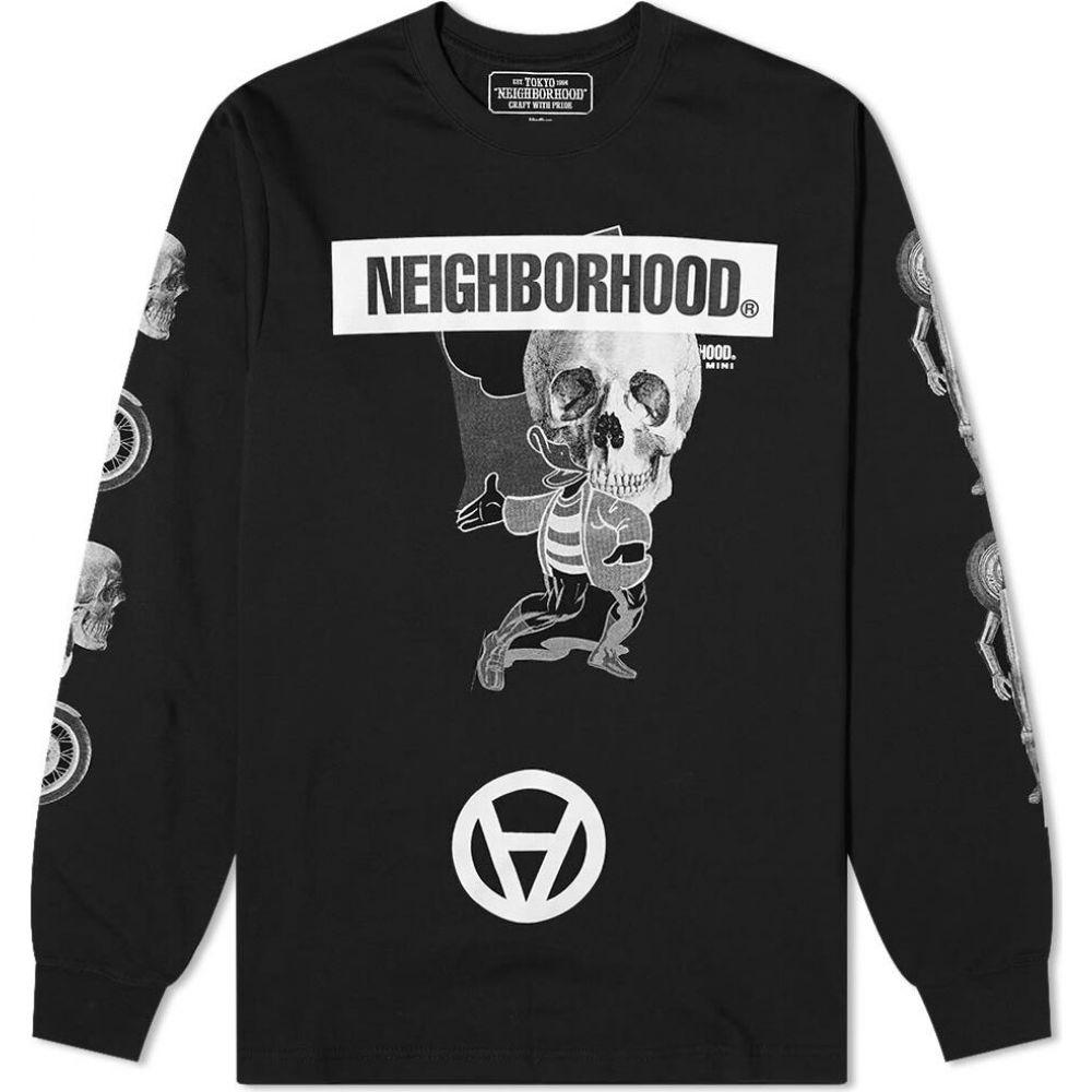 ネイバーフッド Neighborhood メンズ 長袖Tシャツ トップス【x kostas seremetis long sleeve tee】Black