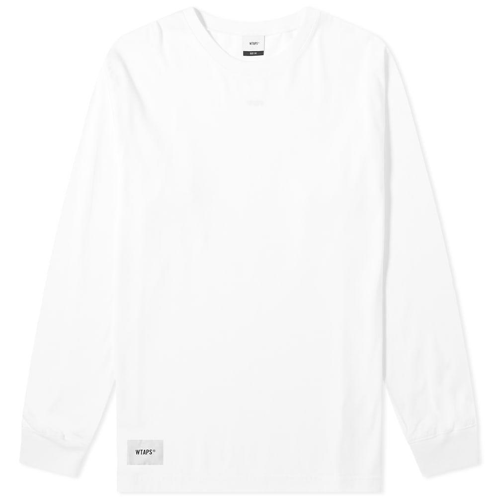 ダブルタップス WTAPS メンズ 長袖Tシャツ トップス【long sleeve sign. design tee】White