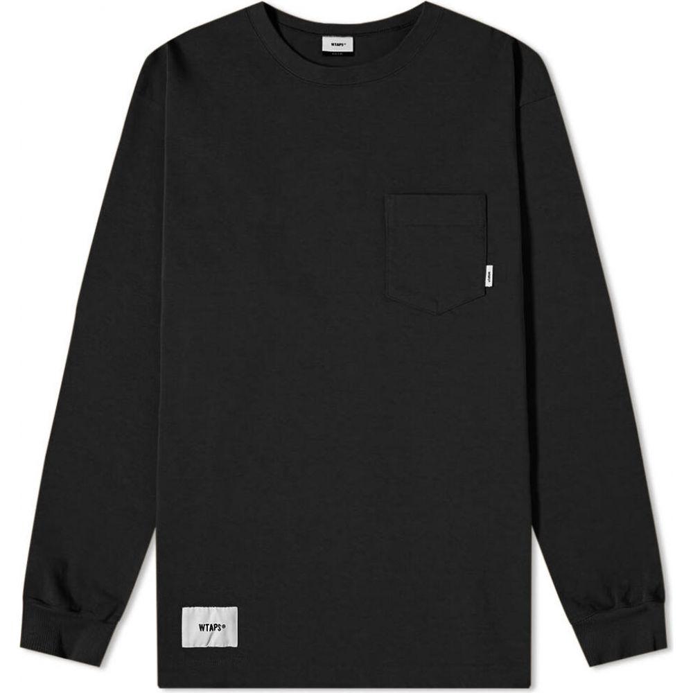 ダブルタップス WTAPS メンズ 長袖Tシャツ トップス【long sleeve blank tee】Black