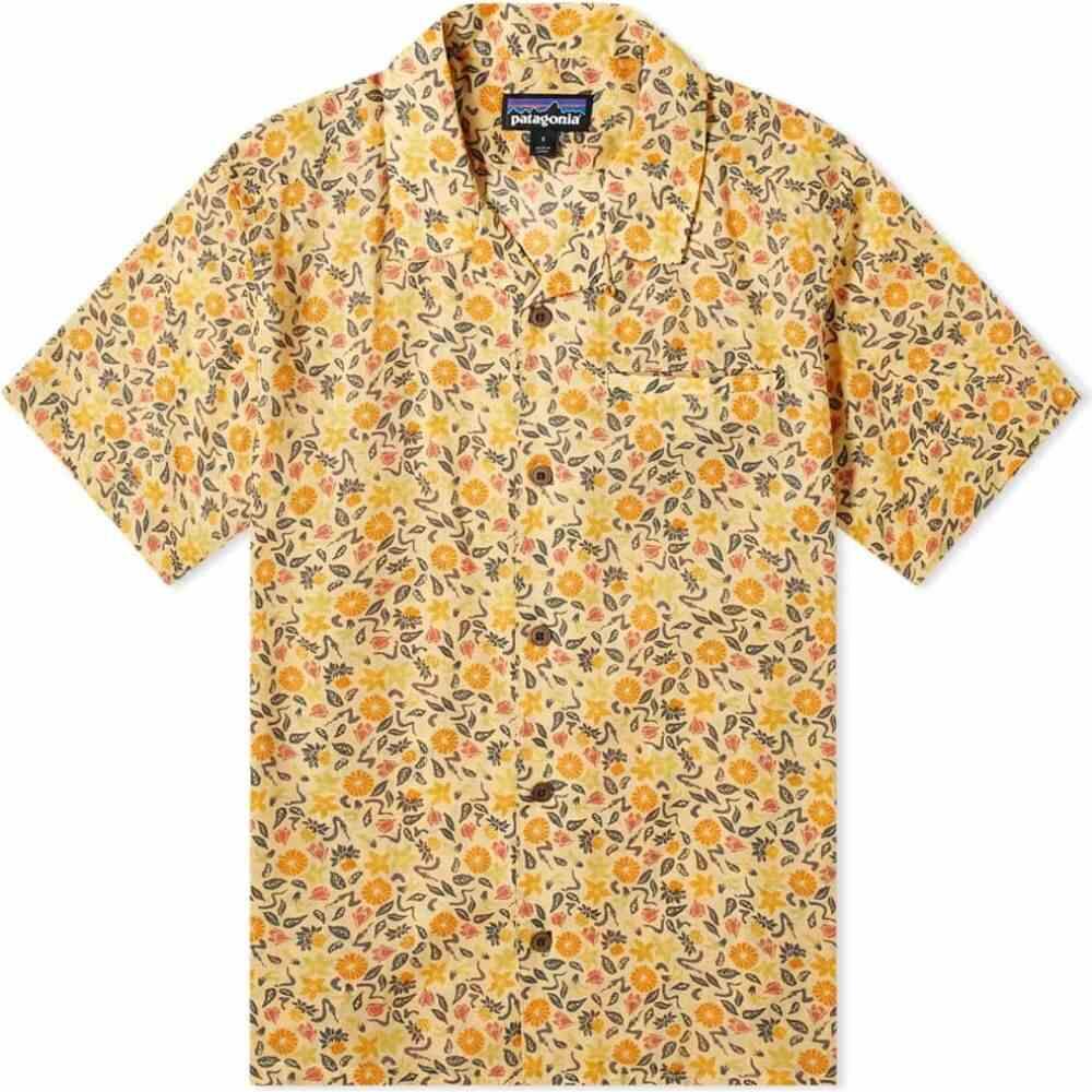 パタゴニア Patagonia メンズ 半袖シャツ トップス【lightweight a/c shirt】Vela Peach Cover Crop