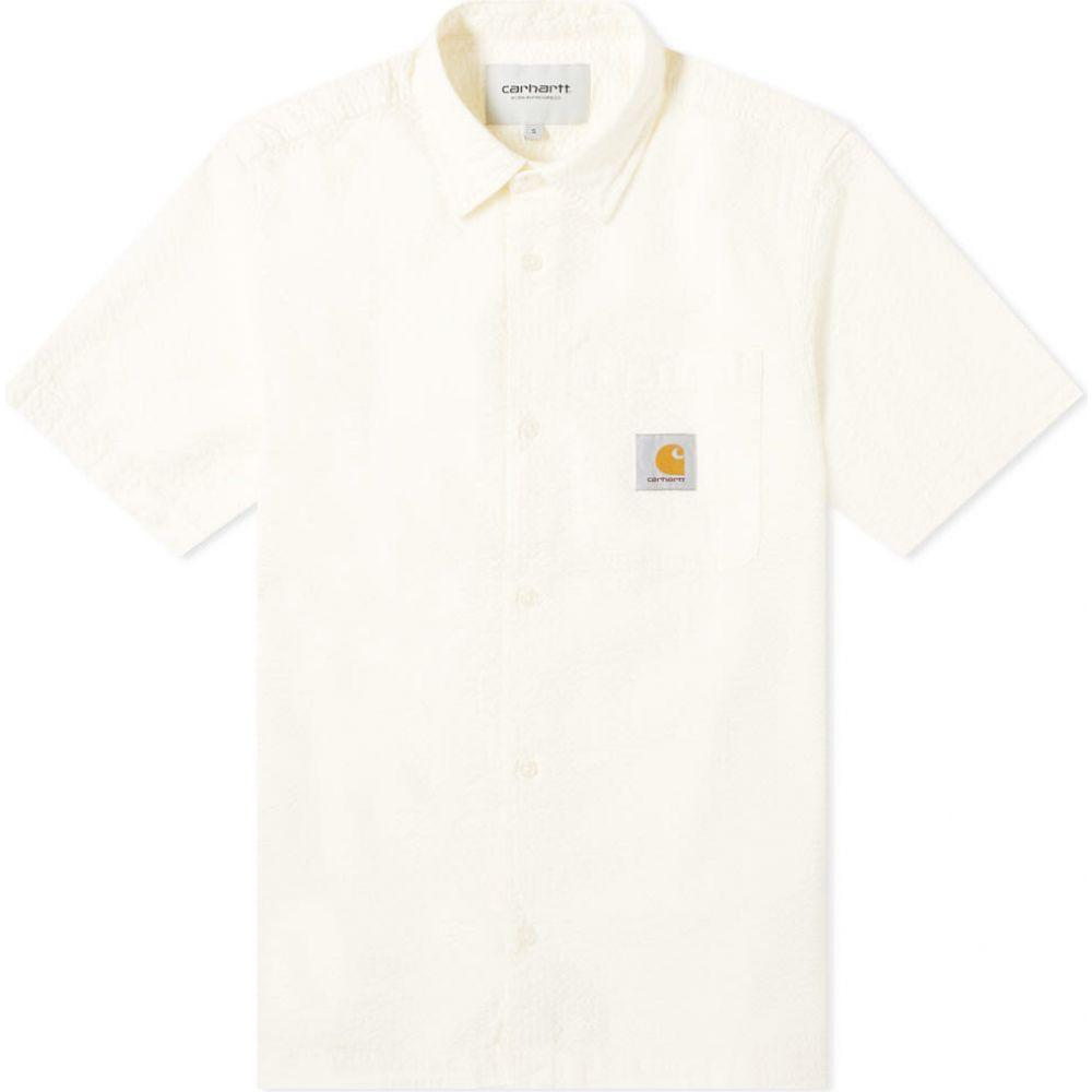 カーハート Carhartt WIP メンズ 半袖シャツ トップス【short sleeve southfield seersucker shirt】Wax