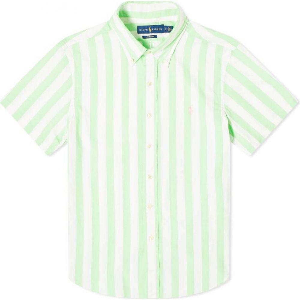 ラルフ ローレン Polo Ralph Lauren メンズ 半袖シャツ トップス【candy stripe vacation shirt】Green