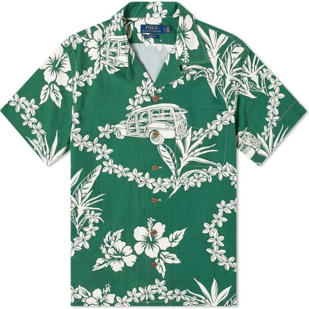 ラルフ ローレン Polo Ralph Lauren メンズ 半袖シャツ トップス【floral vacation shirt】Woody Floral
