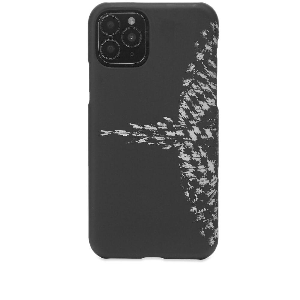 マルセロバーロン メンズ スマートフォン タブレットケース iPhone 11 Pro ケース Black ご注文で当日配送 いつでも送料無料 White cross サイズ交換無料 Burlon Marcelo iphone pro wings pdp case