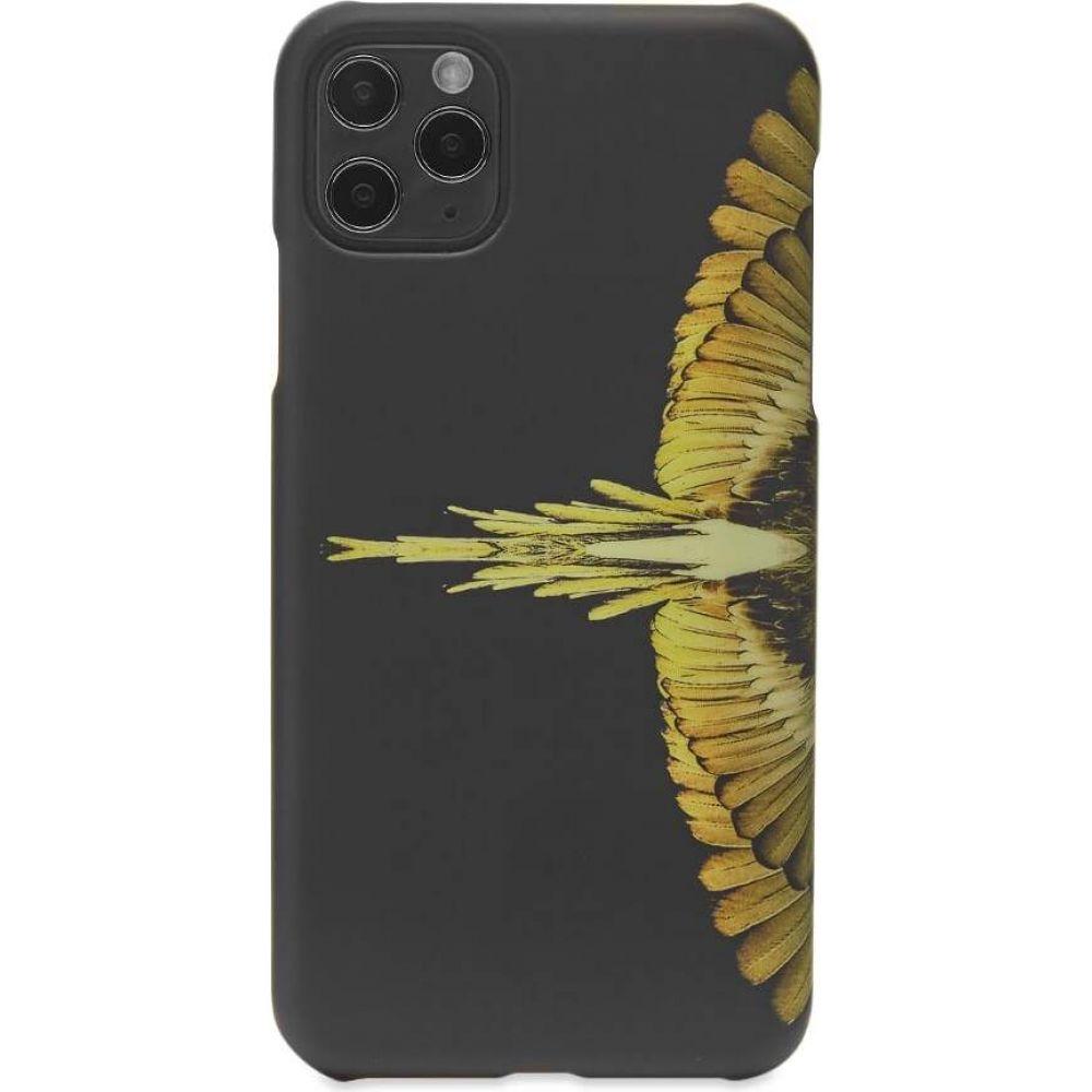 マルセロバーロン メンズ 期間限定の激安セール スマートフォン タブレットケース iPhone 11 Pro Max 高品質 ケース Black Marcelo サイズ交換無料 max wings case pro Ochre Burlon iphone Yellow