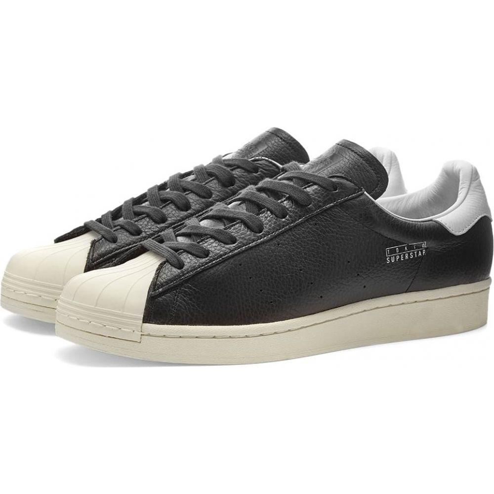 アディダス Adidas メンズ スニーカー シューズ・靴【superstar pure tokyo】Black/White/Carbon