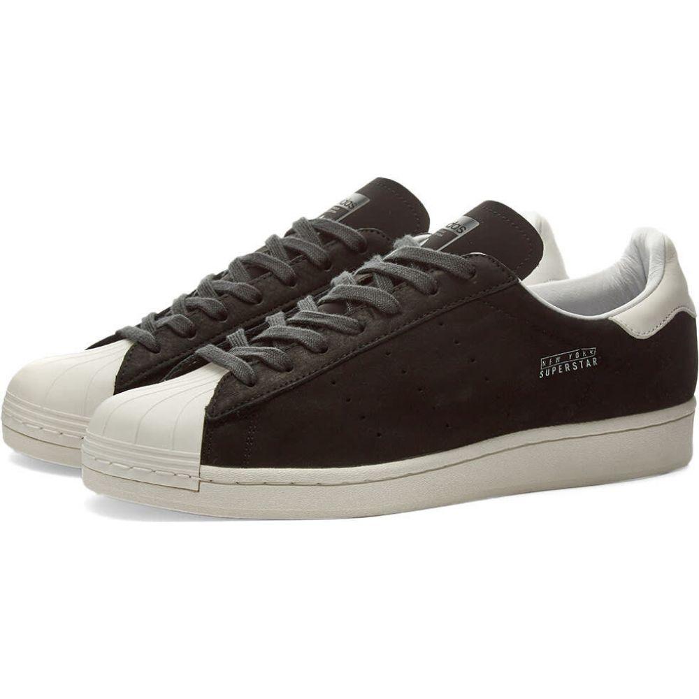 アディダス Adidas メンズ スニーカー シューズ・靴【superstar pure new york】Black/White/Carbon