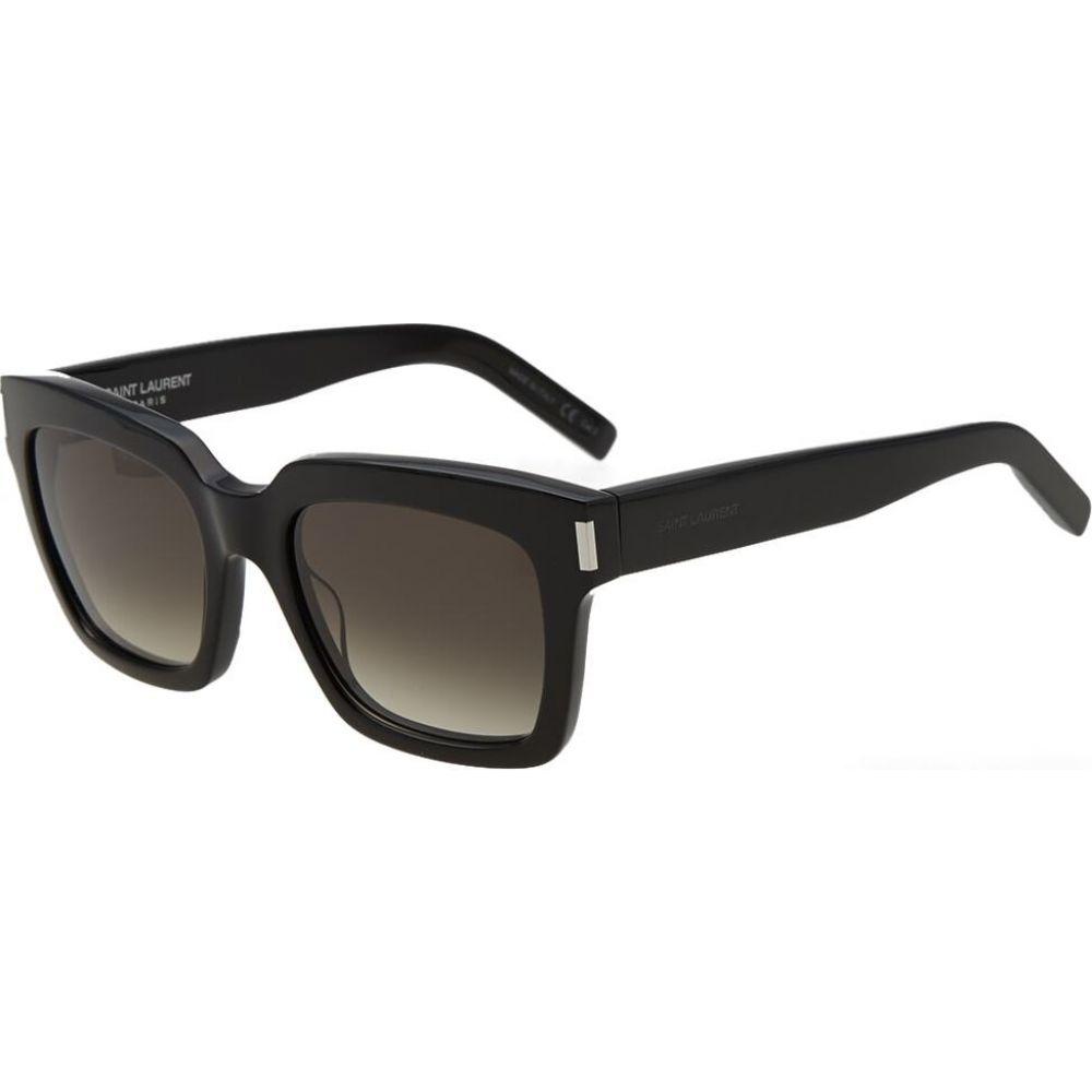 イヴ サンローラン Saint Laurent メンズ メガネ・サングラス 【bold 1 sunglasses】Black/Grey