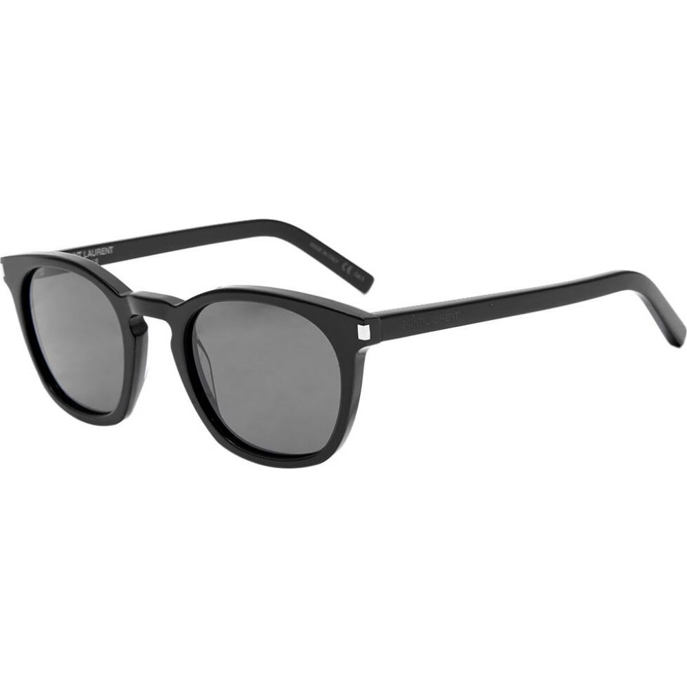 イヴ サンローラン Saint Laurent メンズ メガネ・サングラス 【sl 28 sunglasses】Black/Smoke