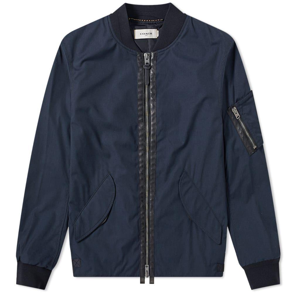 コーチ Coach メンズ ブルゾン ミリタリージャケット アウター【ma-1 bomber jacket】Dark Oxford
