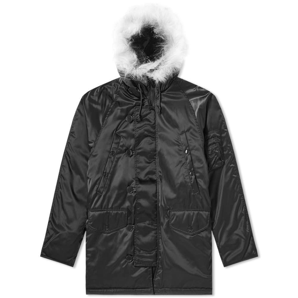 ゴーシャ ラブチンスキー Gosha Rubchinskiy メンズ ジャケット アウター【n-3b jacket】Black