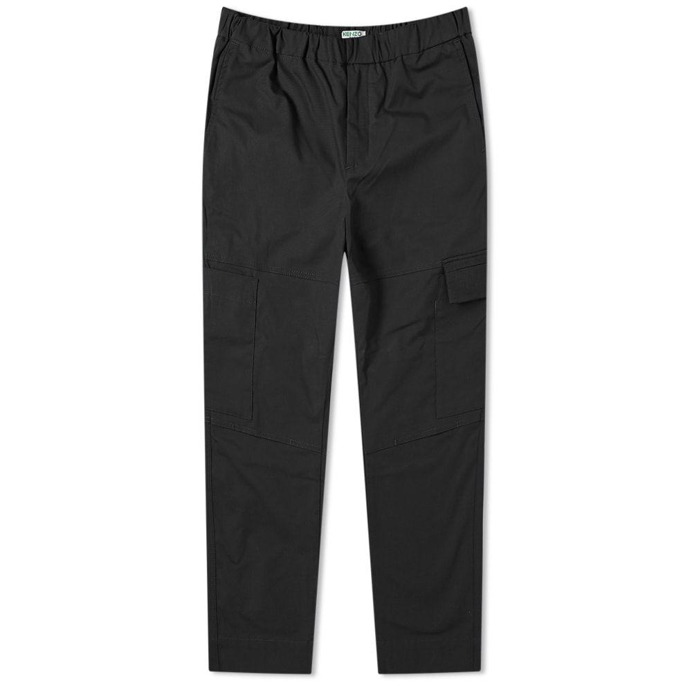 ケンゾー Kenzo メンズ カーゴパンツ ボトムス・パンツ【tapered cropped cargo pant】Black