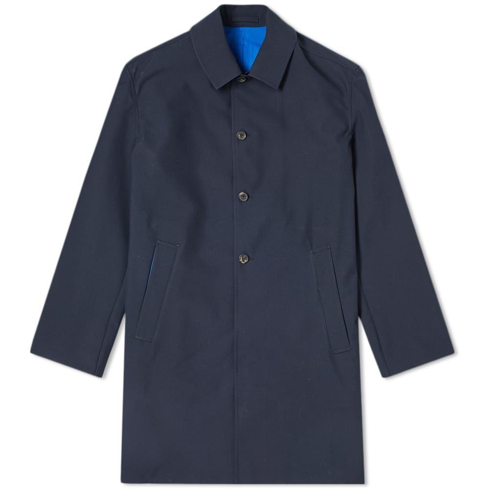 ケンゾー Kenzo メンズ レインコート アウター【neon taping rain coat】Midnight Blue/Royal