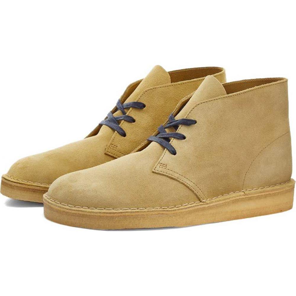 クラークス Clarks Originals メンズ シューズ・靴 【desert coal】Maple Suede