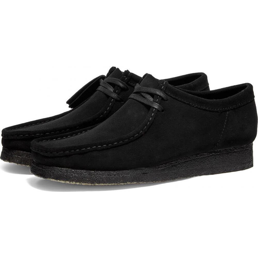 クラークス Clarks Originals メンズ シューズ・靴 【wallabee】Black Suede