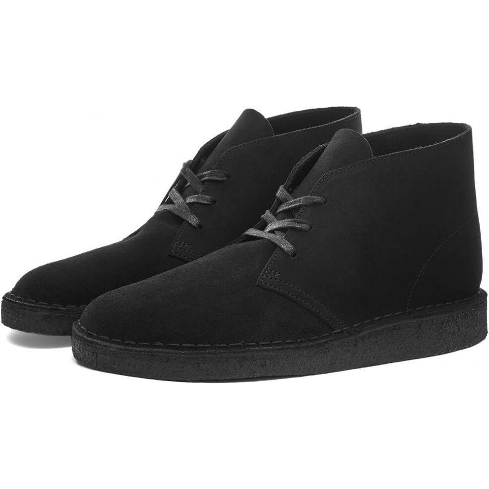 クラークス Clarks Originals メンズ シューズ・靴 【desert coal】Black Sde