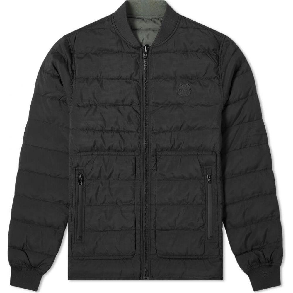 ケンゾー Kenzo メンズ ブルゾン ミリタリージャケット アウター【reversible packable bomber jacket】Black