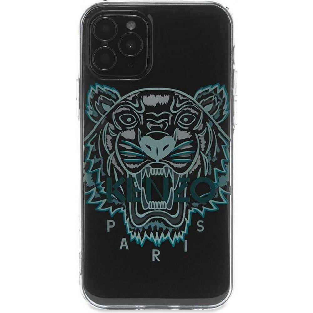 ケンゾー メンズ スマートフォン タブレットケース iPhone 11 Pro ケース 送料無料 新品 Black サイズ交換無料 pro 大幅にプライスダウン tiger 3d iphone case Kenzo