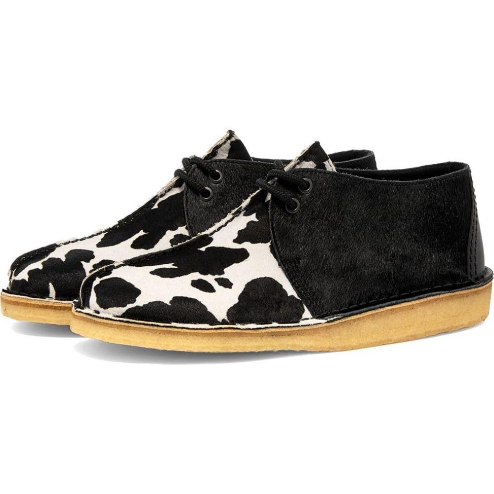 クラークス Clarks Originals メンズ シューズ・靴 【desert trek】Black Cow Print