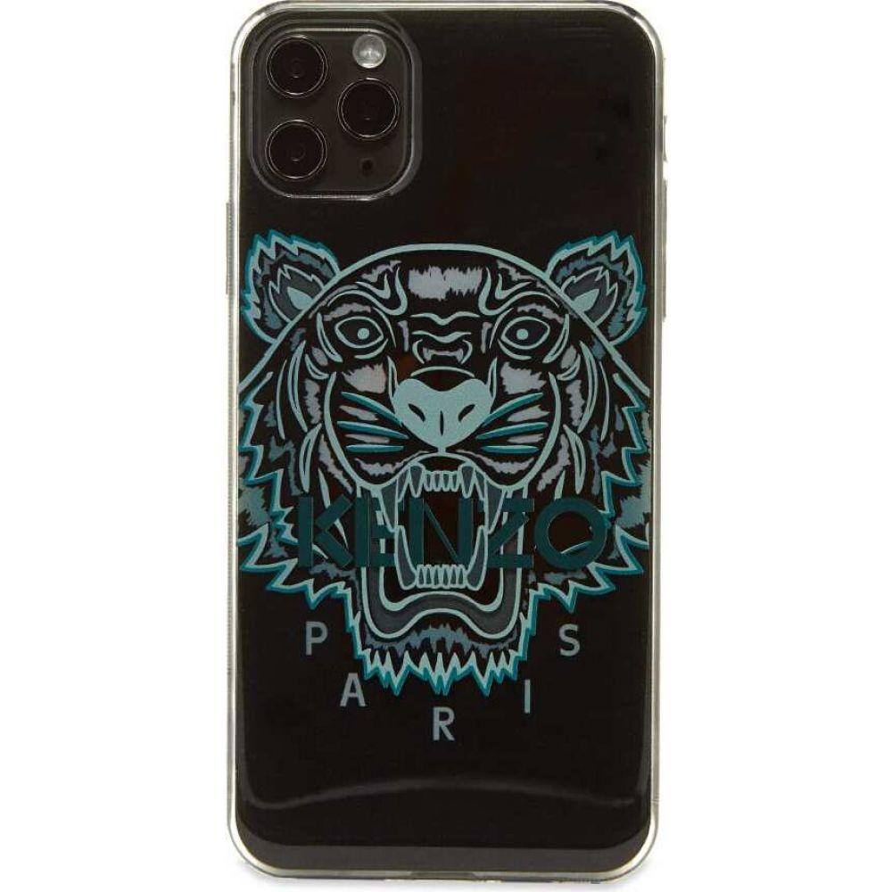 ケンゾー メンズ スマートフォン 正規認証品!新規格 タブレットケース iPhone 11 買取 Pro Max ケース サイズ交換無料 case iphone max pro Black 3d Kenzo tiger