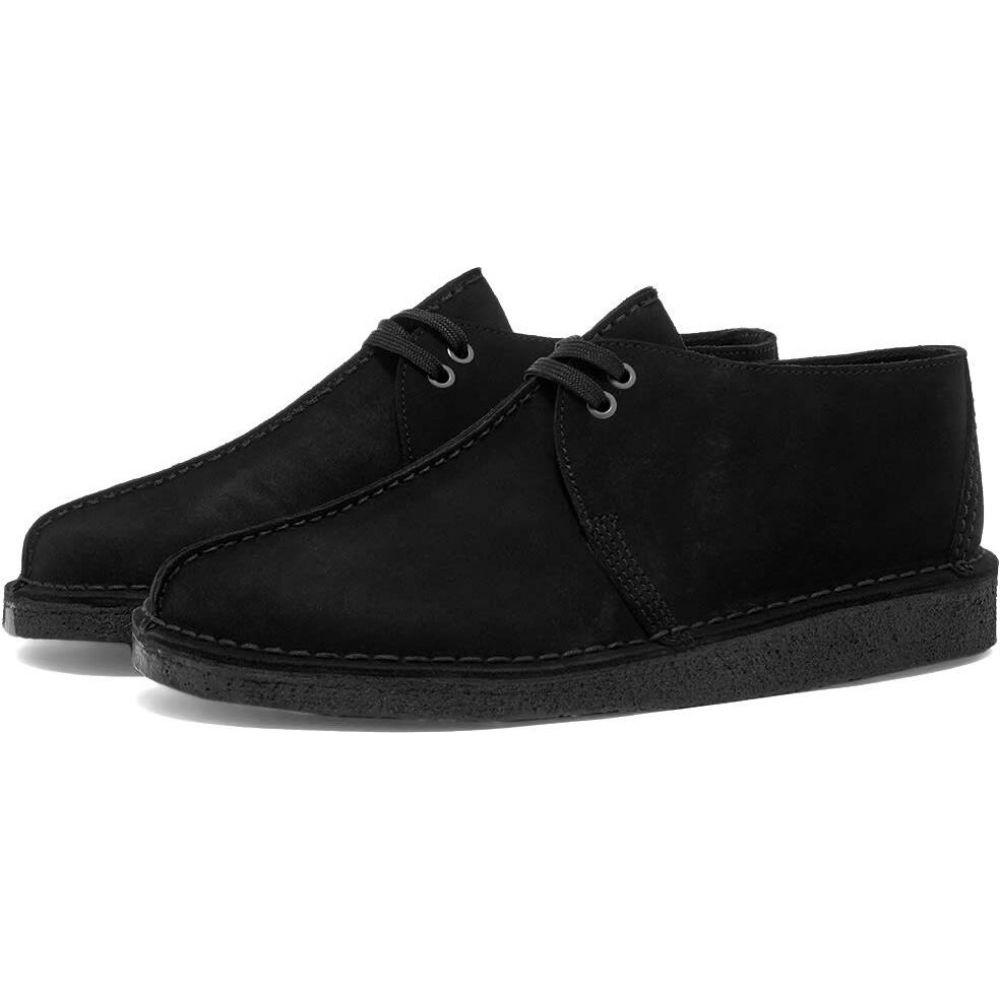 クラークス Clarks Originals メンズ シューズ・靴 【desert trek】Black Suede