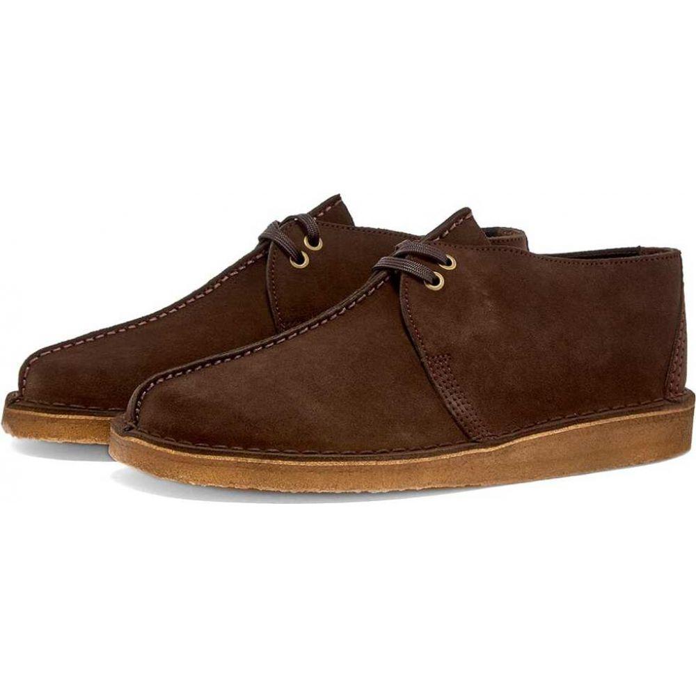 クラークス Clarks Originals メンズ シューズ・靴 【desert trek】Dark Brown Suede
