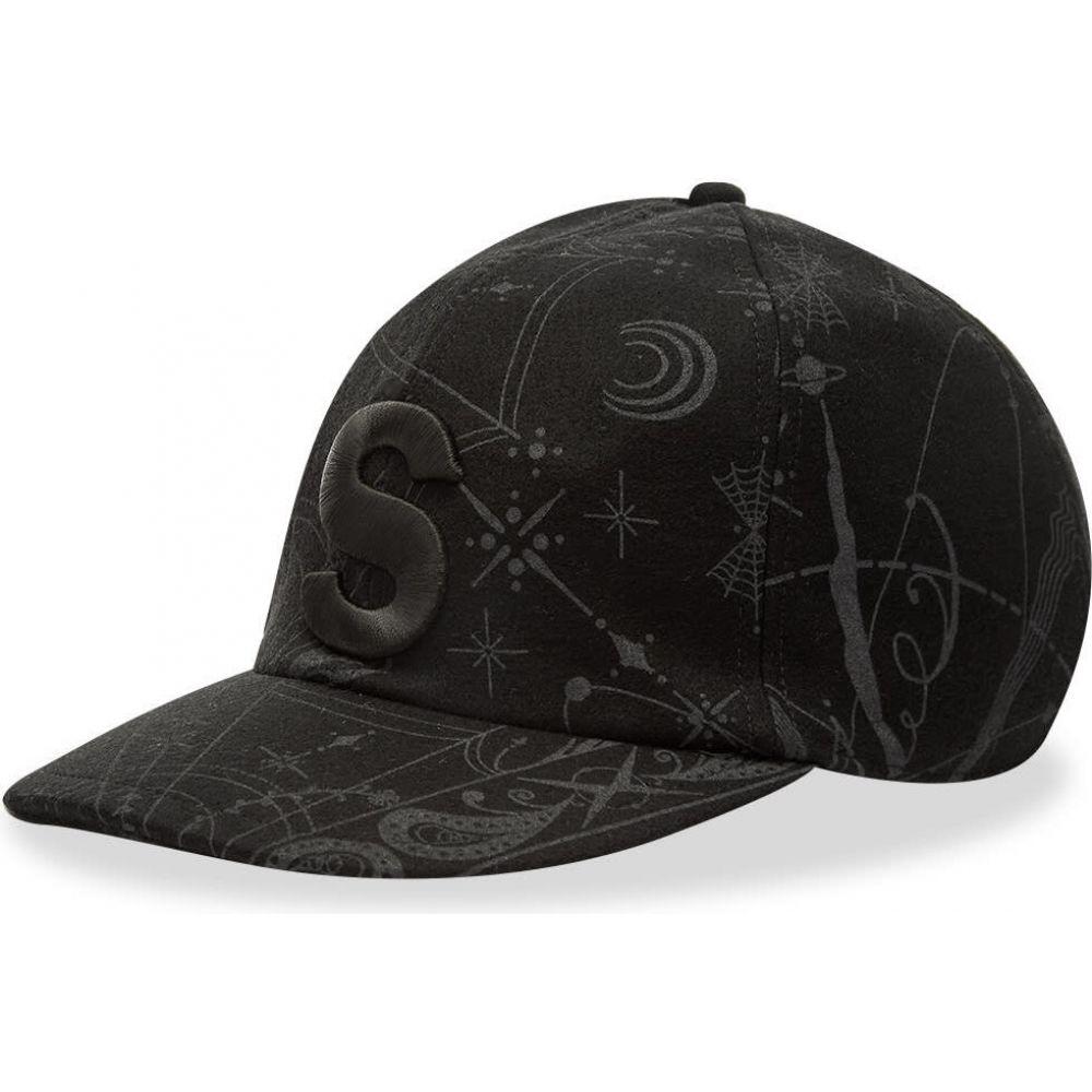 サカイ Sacai メンズ キャップ 帽子【dr. woo bandana cap】Black