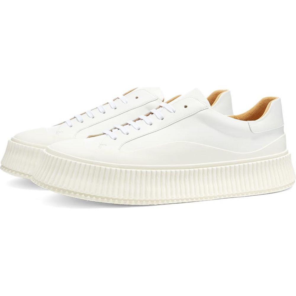 ジル サンダー Jil Sander メンズ スニーカー シューズ・靴【vulcanised sneaker】White:フェルマート