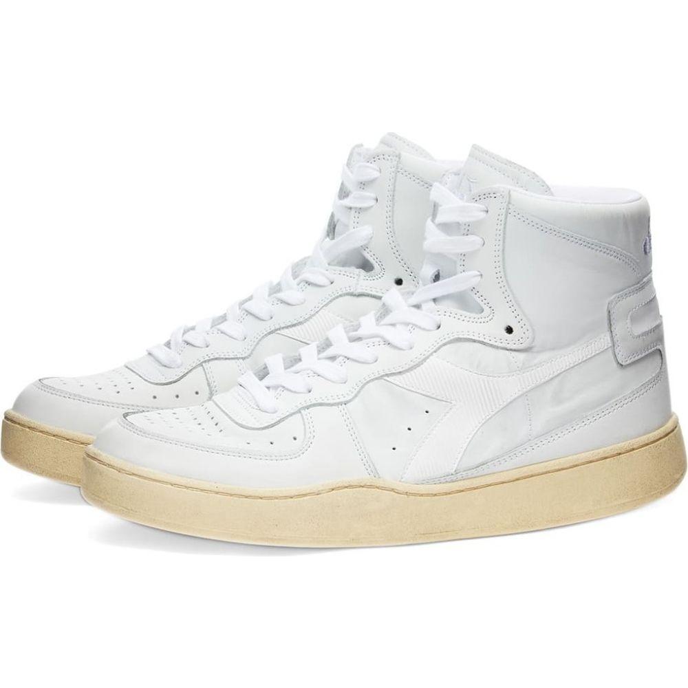 ディアドラ メンズ シューズ 靴 ファクトリーアウトレット スニーカー White used basket ランキングTOP5 サイズ交換無料 mi Diadora