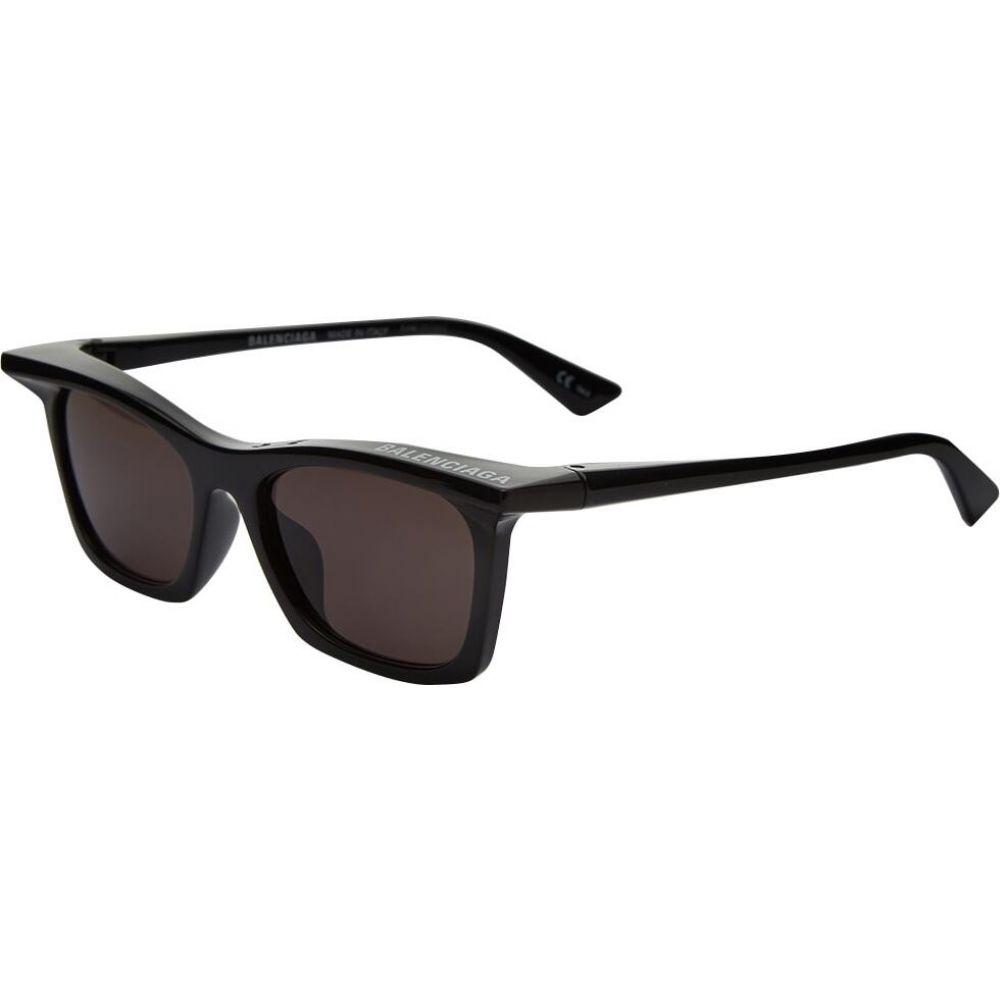 バレンシアガ Balenciaga メンズ メガネ・サングラス 【rim rectangle sunglasses】Black/Grey