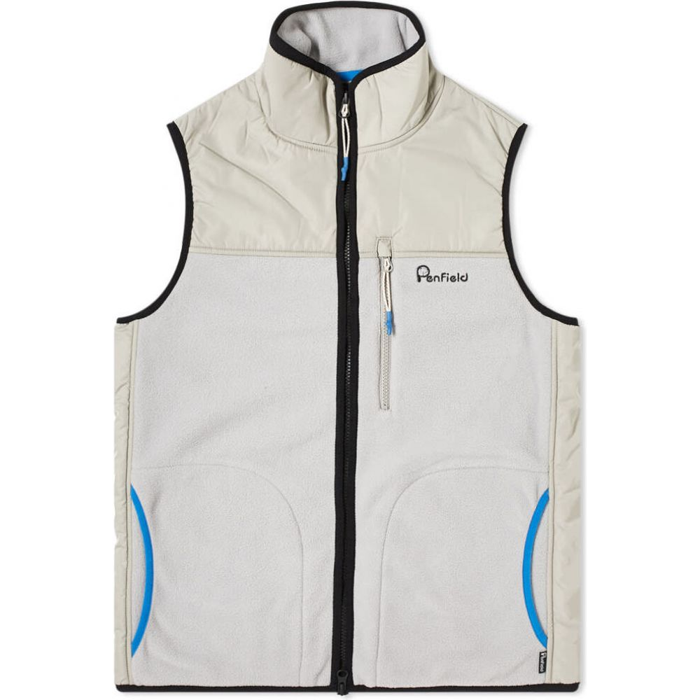ペンフィールド Penfield メンズ ベスト・ジレ トップス【moore fleece vest】Grey