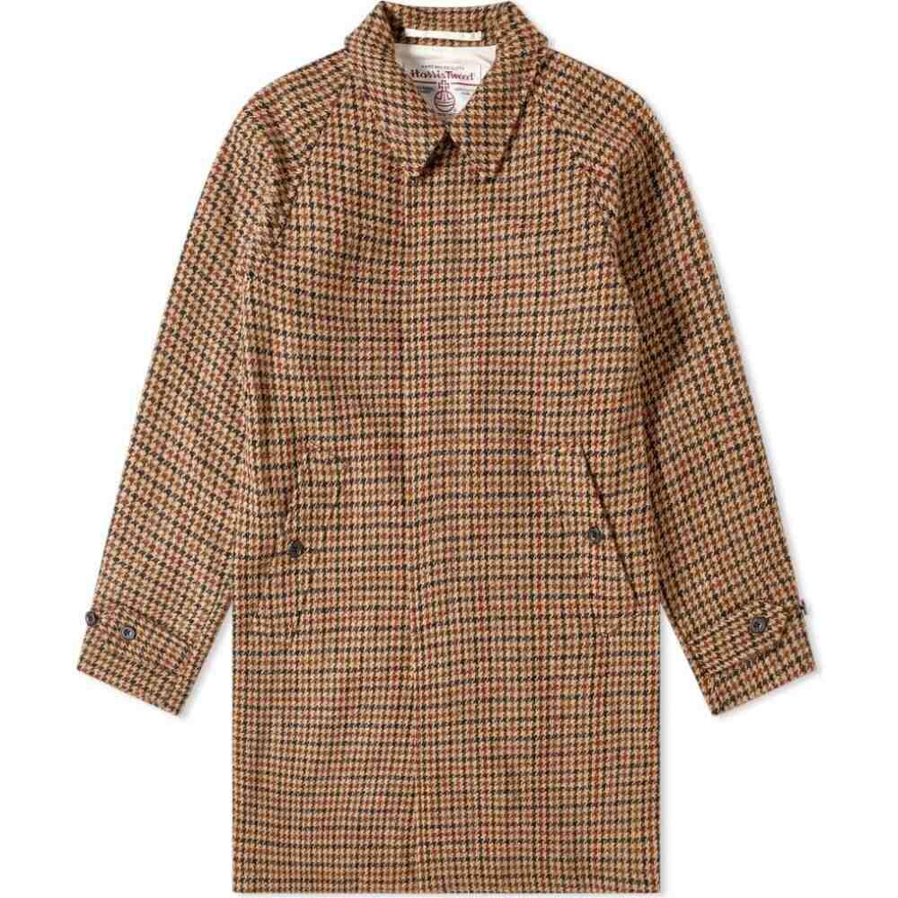 <title>ビームス プラス メンズ アウター コート Gun 限定モデル Club サイズ交換無料 Beams Plus Harris Tweed Balmacaan Coat</title>