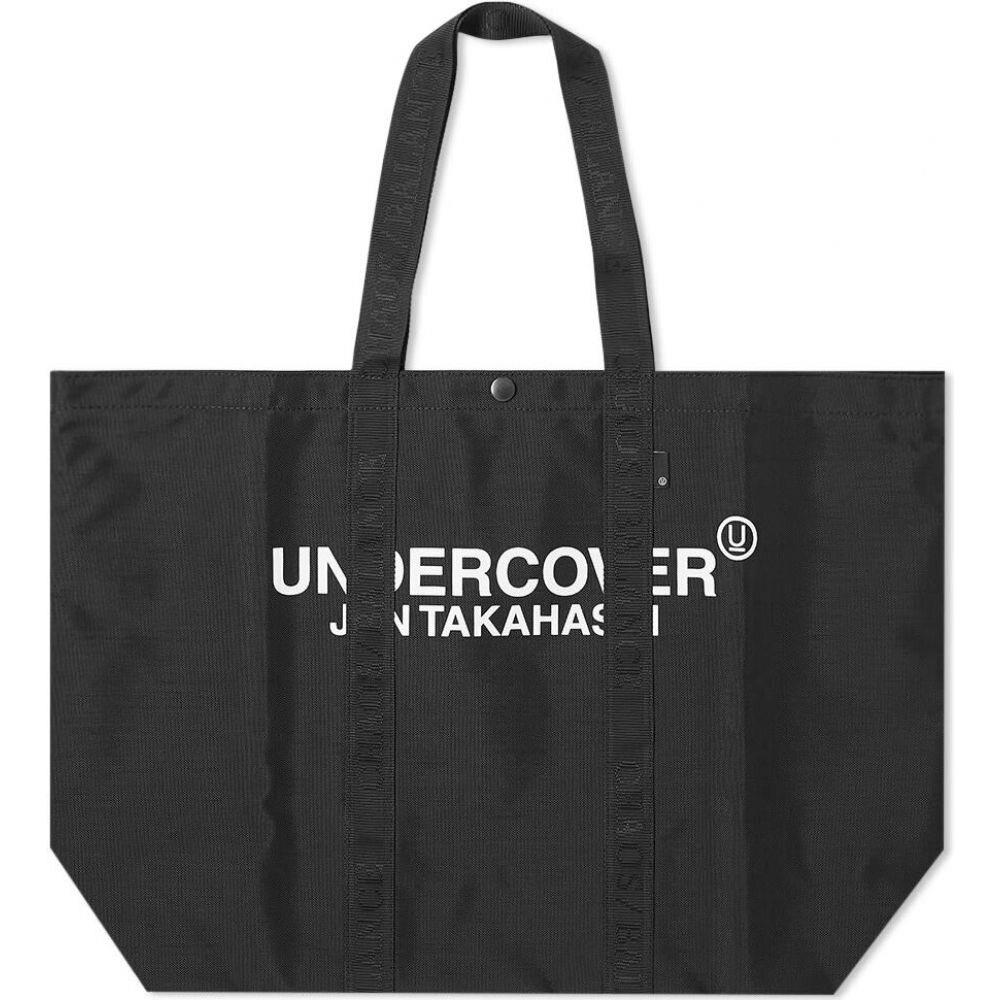アンダーカバー Undercover メンズ トートバッグ バッグ【Logo Shopper Tote】Black