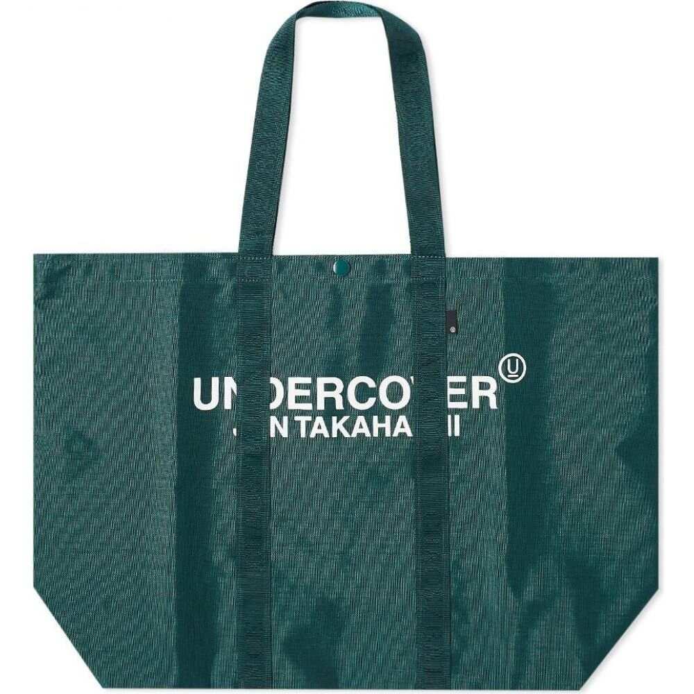 アンダーカバー Undercover メンズ トートバッグ バッグ【Logo Shopper Tote】Green