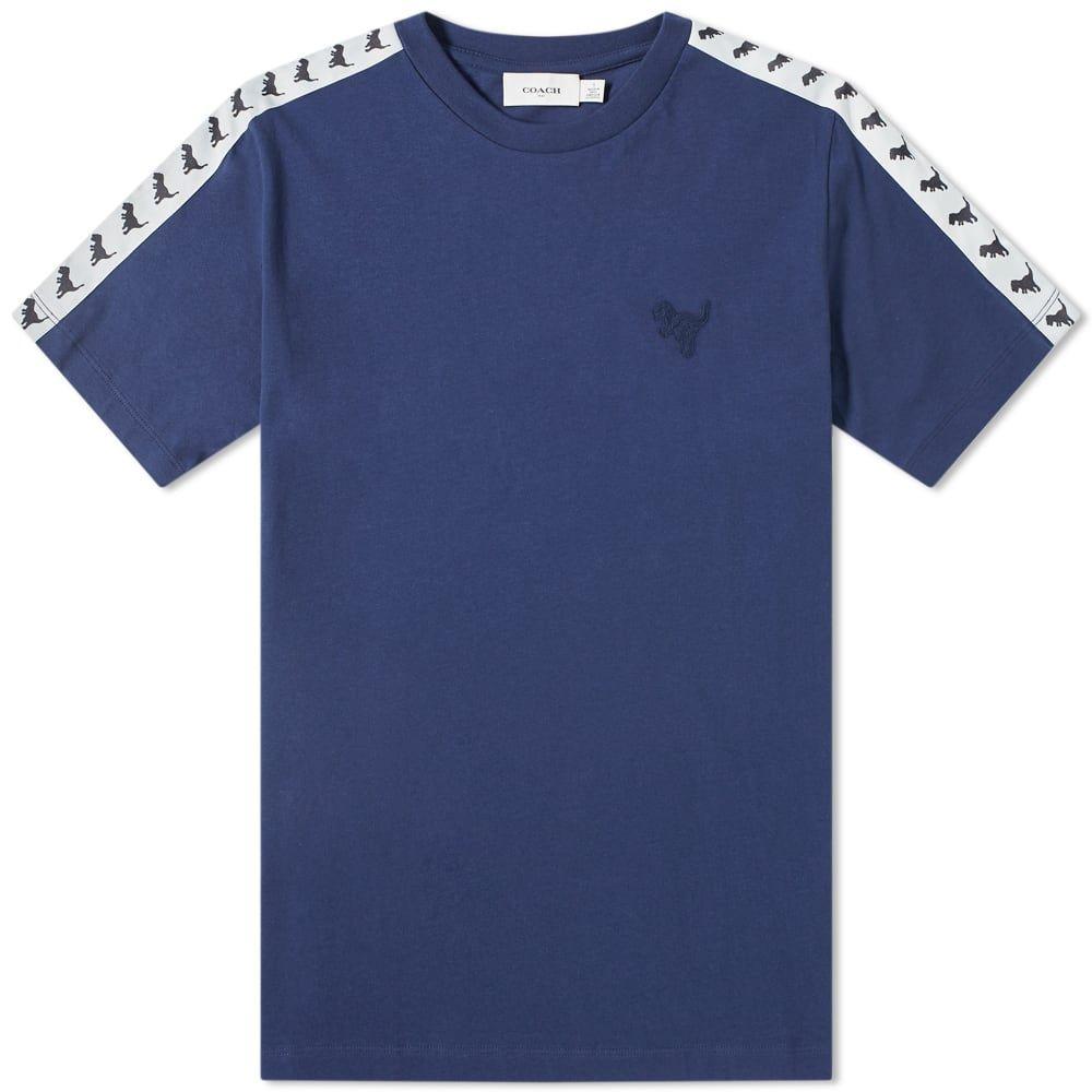 コーチ Coach メンズ Tシャツ トップス【rexy taped tee】Dark Blue