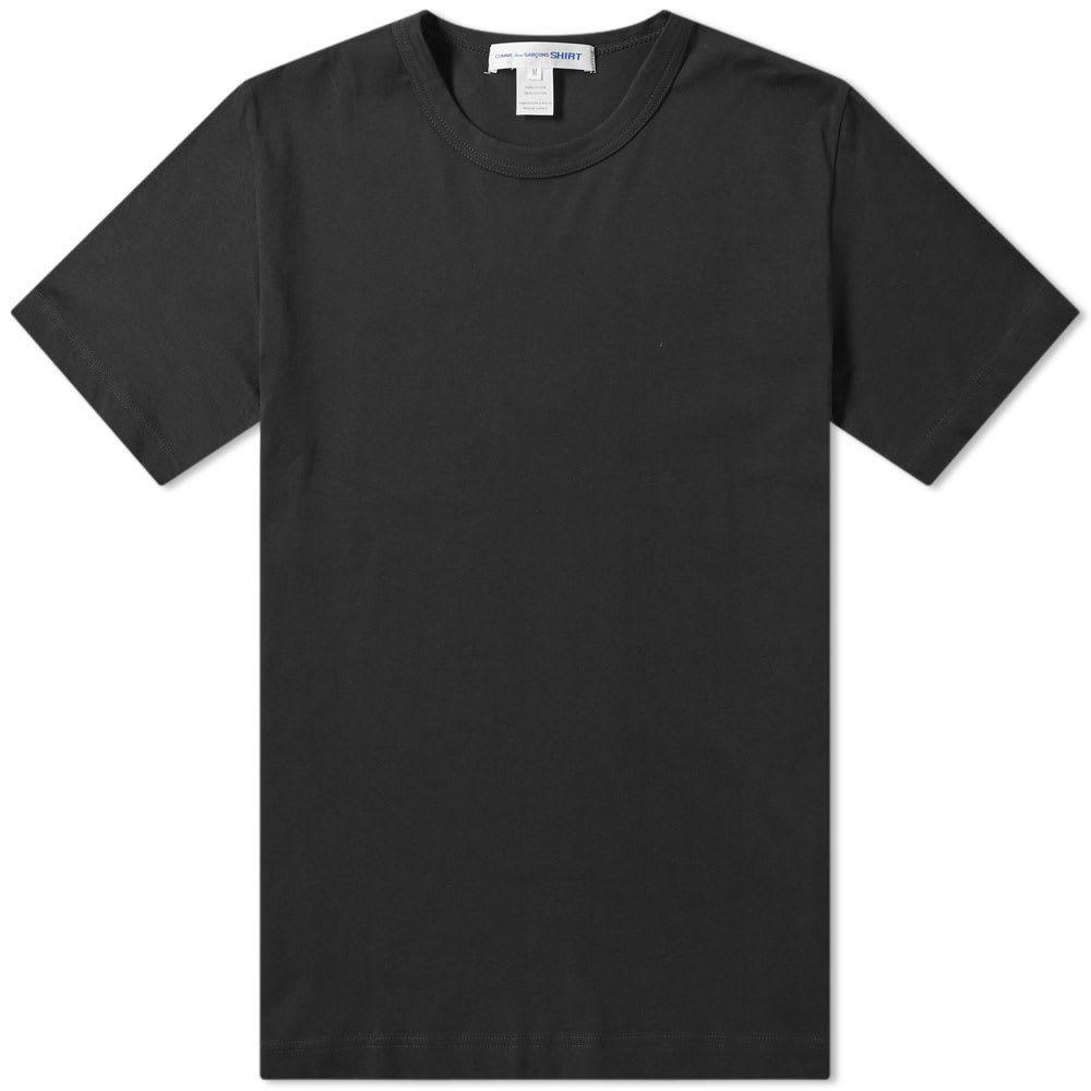 コム デ ギャルソン Comme des Garcons SHIRT メンズ Tシャツ トップス【classic tee】Black